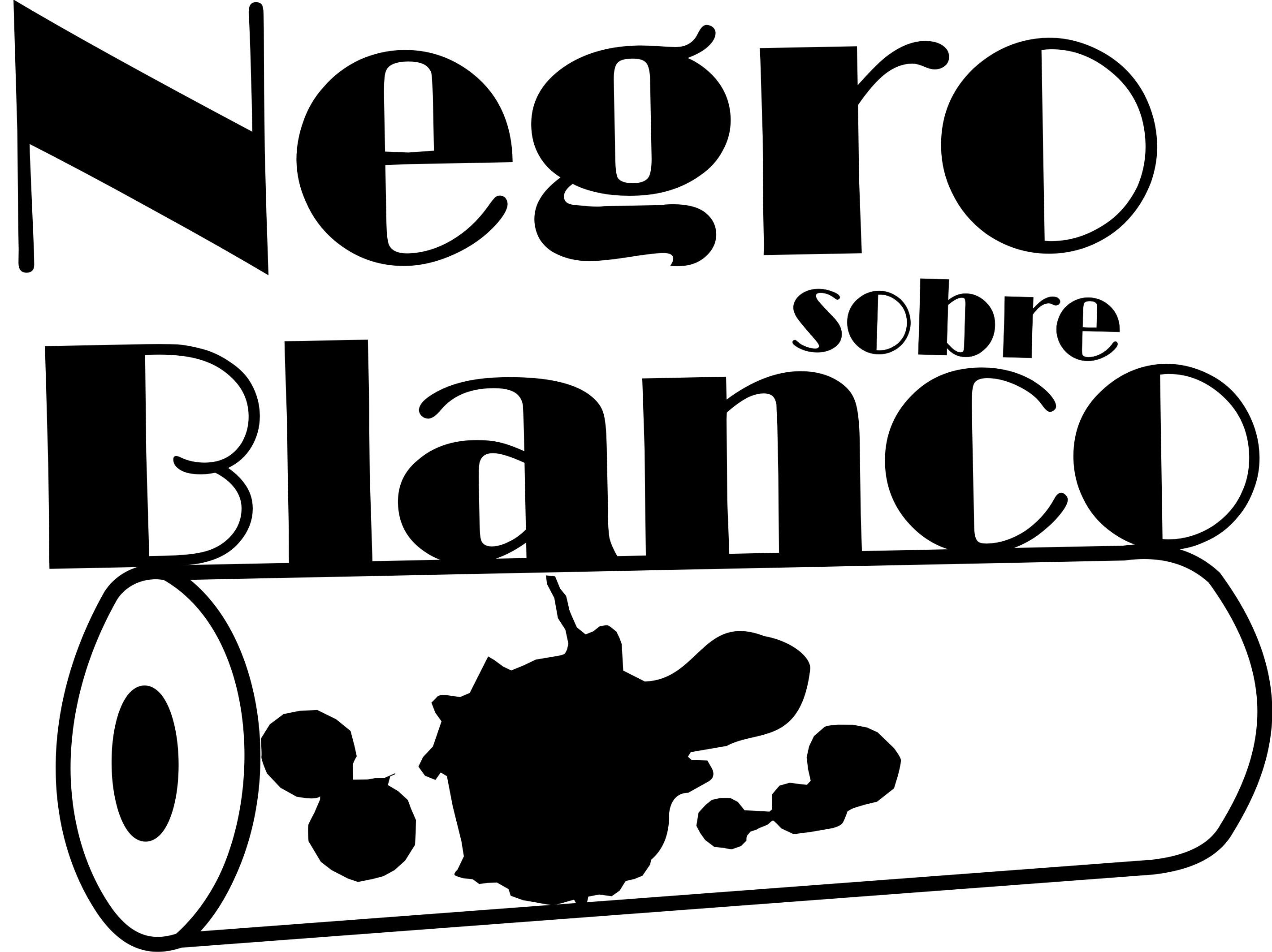 Negro sobre blancos xxx